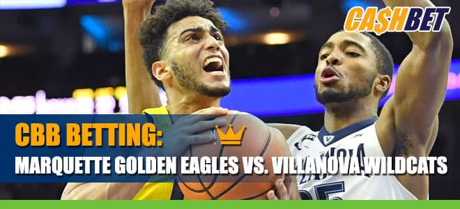 College Basketball Betting: Marquette Golden Eagles vs. Villanova Wildcats Odds