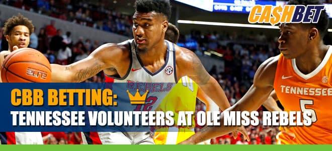 NCAA Basketball Betting: Tennessee Volunteers vs. Ole Miss Rebels Odds and Picks