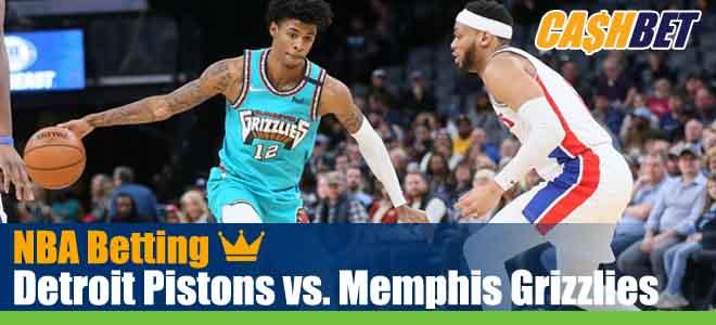 Detroit Pistons vs. Memphis Grizzlies