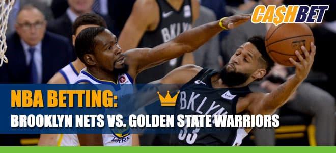 Brooklyn Nets vs. Golden State Warriors Betting