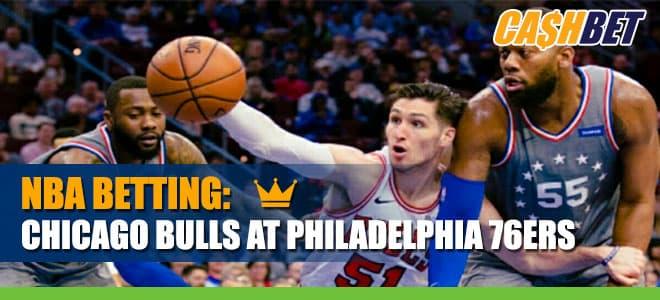 Chicago Bulls vs. Philadelphia 76ers Betting Odds
