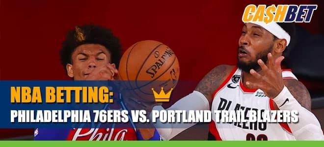 Philadelphia 76ers vs. Portland Trail Blazers Betting Information