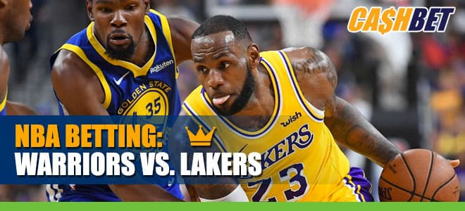 NBA Betting: Golden State Warriors vs. Los Angeles Lakers Odds and Picks