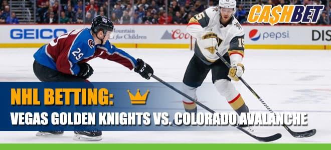 Hockey Betting: Golden Knights vs. Avalanche Betting