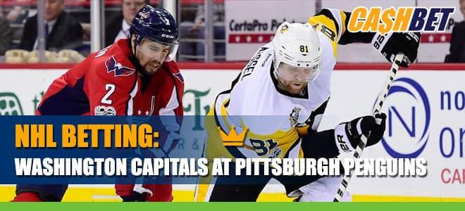 NHL Betting: Washington Capitals vs. Pittsburgh Penguins Odds and Picks