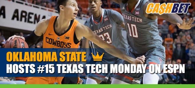 NCAAB Betting: Texas Tech Red Raiders vs. Oklahoma State Cowboys