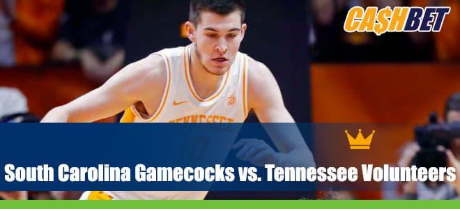 NCAA Basketball Betting: South Carolina Gamecocks vs. Tennessee Volunteers Odds and Picks