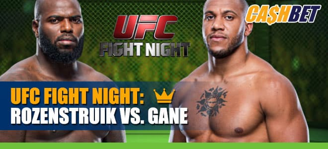 Heavyweight Bout Jair Rozenstruik vs. Ciryl Gane Main Card betting