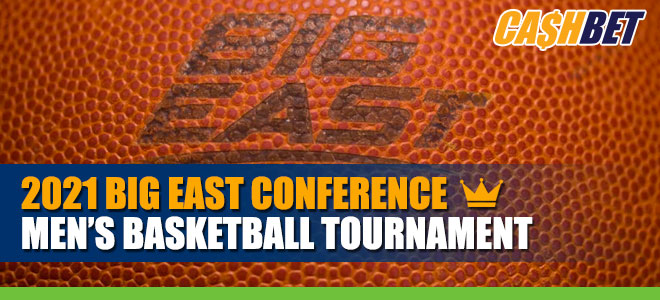 2021 Big East Conference Men's Basketball Tournament betting odds and analysis