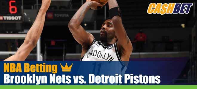 Brooklyn Nets vs. Detroit Pistons
