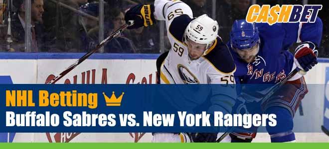 NHL Betting: Sabres vs. Rangers Odds and Hockey Picks
