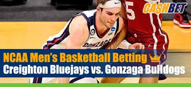 Creighton Bluejays vs Gonzaga Bulldogs