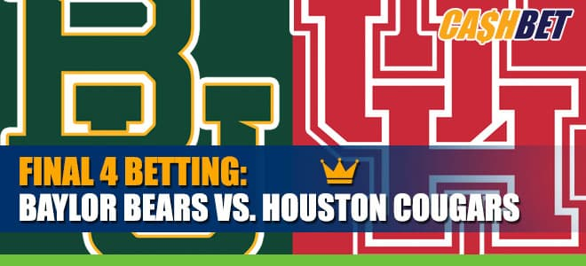 Baylor Bears vs. Houston Cougars Final Four Betting Information