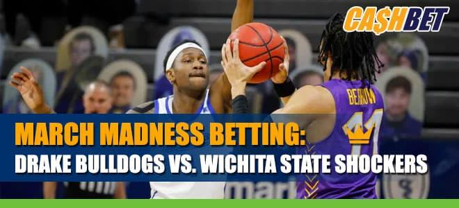 NCAAB Betting: Drake Bulldogs vs. Wichita State Shockers Odds and Picks