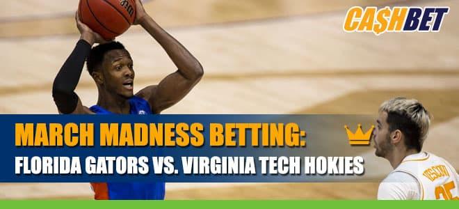 March Madness Betting: Florida Gators vs. Virginia Tech Hokies Information and Odds