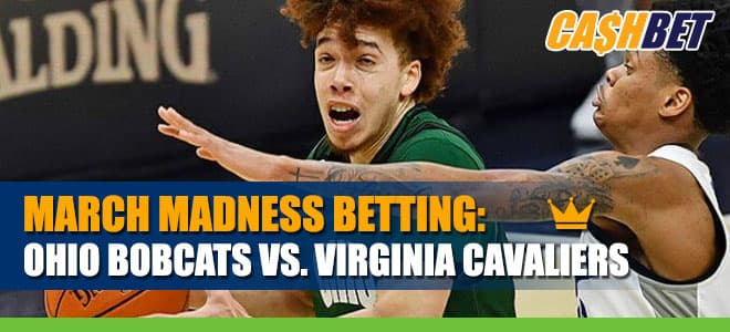 Ohio Bobcats vs. Virginia Cavaliers Betting Information for March Madness