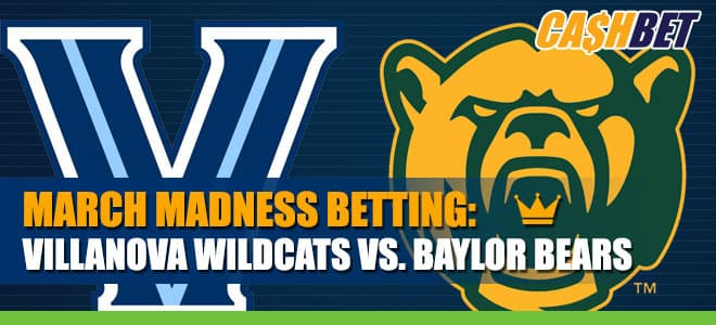 Baylor Bears Betting Favorites vs. Villanova Wildcats for 2021 Sweet Sixteen Betting