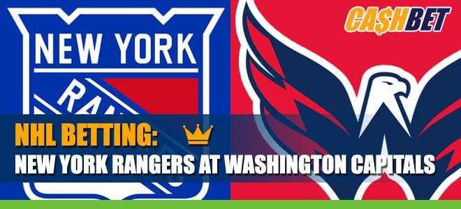 NHL Betting: New York Rangers vs. Washington Capitals Odds and Picka