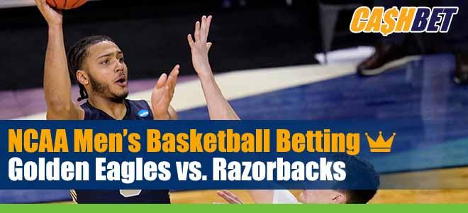 Oral Roberts Golden Eagles vs Arkansas Razorbacks