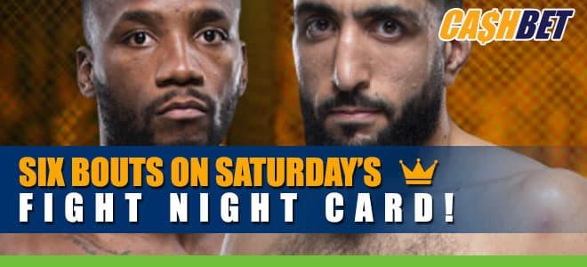 UFC Fight Night Main Card Betting Info, Belal Muhammad vs. Leon Edwards Odds and Picks