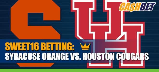 Sweet 16 Betting: Syracuse Orange vs. Houston Cougars Odds