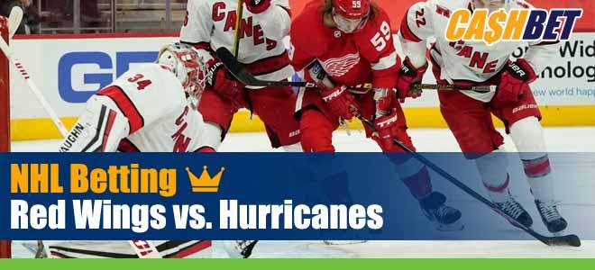 Detroit Red Wings vs. Carolina Hurricanes