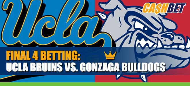 UCLA Bruins vs. Gonzaga Bulldogs Final Four Updated Odds, Game Prediction and Picks
