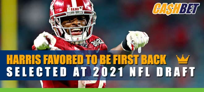 Harris Favored to Be First Back Selected at 2021 NFL Draft Betting