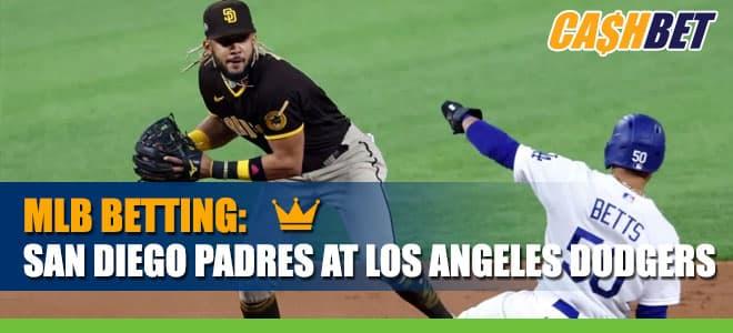 MLB betting: San Diego Padres vs. Los Angeles Dodgers