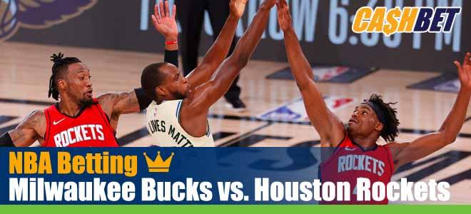 Milwaukee Bucks vs. Houston Rockets