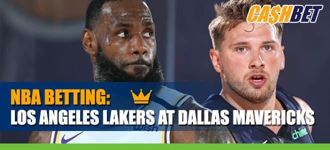 Los Angeles Lakers vs. Dallas MavericksBetting Info, odds
