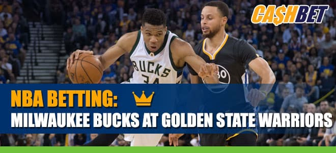 Milwaukee Bucks vs. Golden State Warriors NBA Betting Odds