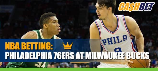 Philadelphia 76ers vs. Milwaukee Bucks- NBA betting odds and Picks