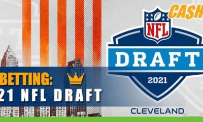 2021 NFL Draft First Round Progresses betting