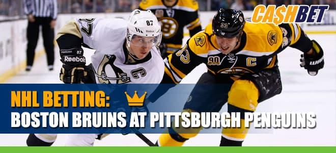 Boston Bruins vs. Pittsburgh Penguins Betting NHL