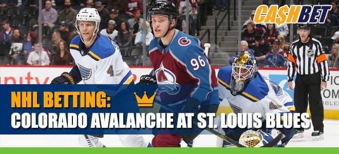 Colorado Avalanche vs. St. Louis Blues Betting Hockey