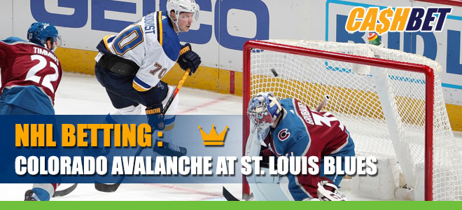 NHL betting: Colorado Avalanche vs. St. Louis Odds and predictions