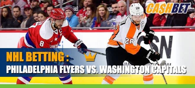 NHL betting: Philadelphia Flyers vs. Washington Capitals odds and picks