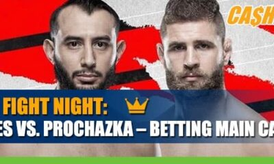 Reyes vs. Prochazka Highlights Fight Night Main Card Betting Odds