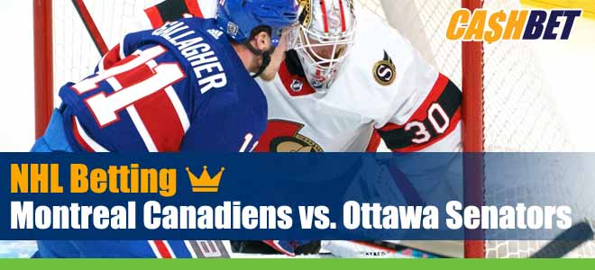 Canadiens vs. Senators NHL Hockey Previews, Game Analysis and Betting Odds