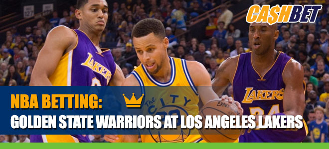 Golden State Warriors vs. Los Angeles LakersBetting Information