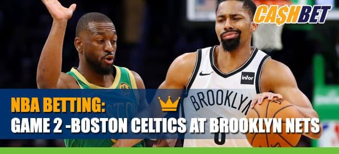 Game 2 -Boston Celtics vs. Brooklyn NetsBetting Information