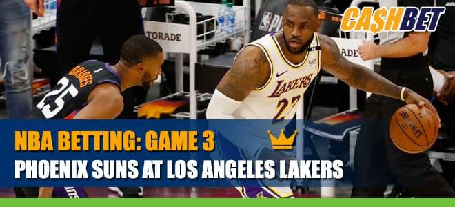 Phoenix Suns vs. Los Angeles LakersBetting Information