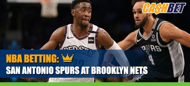 Playoff Betting Bound Nets Host Spurs on Wednesday, May 12, 2021