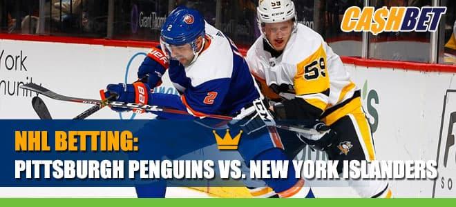 NHL Playoffs Game 6 - Pittsburgh Penguins vs. New York IslandersBetting Information