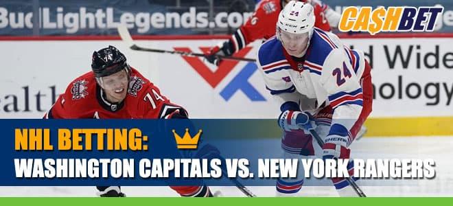 Washington Capitals vs. New York RangersBetting odds and picks