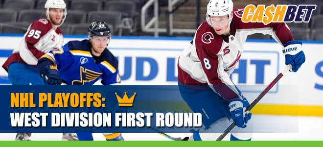 NHL West Division First Round Betting: Wild vs. Golden Knights Odds
