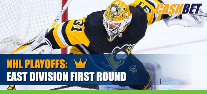 New York Islanders (32-17-7) vs. Pittsburgh Penguins (37-16-3) NHL Playoff Bets