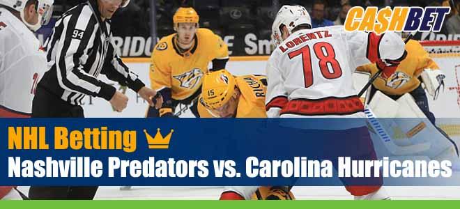 Nashville Predators vs. Carolina Hurricanes