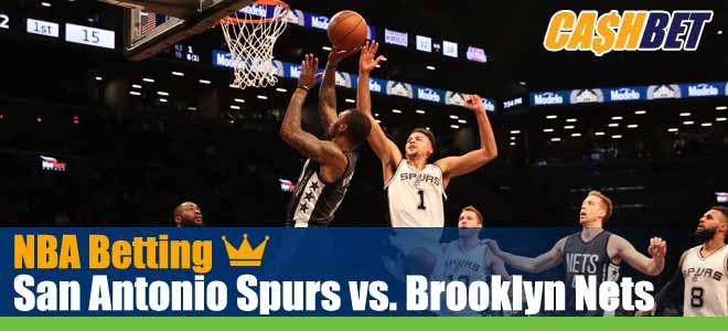 San Antonio Spurs vs. Brooklyn Nets NBA Picks, Predictions and Betting Previews